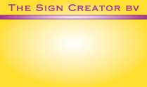 The Sign Creator B.V.